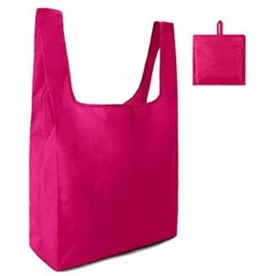 エコバッグ 折りたたみ 人気 選べる8色 エコバック コンビニ コンパクト 男性 買い物袋(ローズレッド)