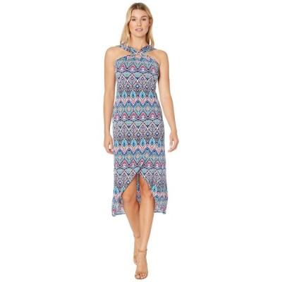 トミー バハマ Tommy Bahama レディース ワンピース マキシ丈 ワンピース・ドレス Prima Peacock Maxi Dress Amalfi Sea