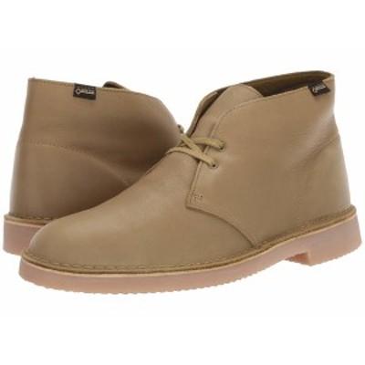 クラークス メンズ ブーツ&レインブーツ シューズ Desert Boot GTX Khaki Leather