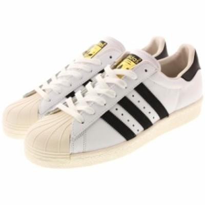 定番 アディダス adidas スーパースター 80s ホワイト/ブラック/チョーク G61070