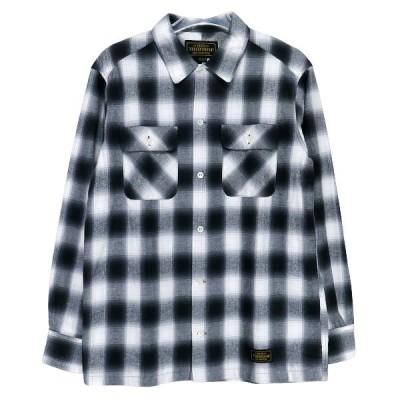 NEIGHBORHOOD ネイバーフッド 20SS B&C/C-SHIRT.LS 201ARNH-SHM03 オンブレ チェック シャツ ブラック 長袖シャツ