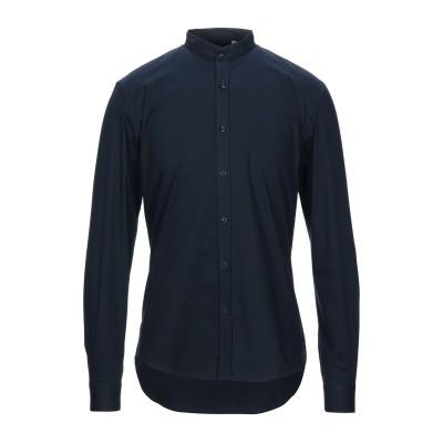 BESILENT シャツ ダークブルー L コットン 97% / ポリウレタン 3% シャツ