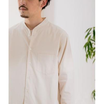 【アーバンリサーチ/URBAN RESEARCH】 DOORS ライトオックスバンドカラーシャツ