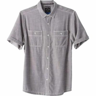 カブー Kavu メンズ 半袖シャツ トップス KAVU Jacksonville Shirt Smoked Pearl