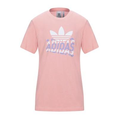 ADIDAS ORIGINALS T シャツ ピンク S コットン 100% T シャツ