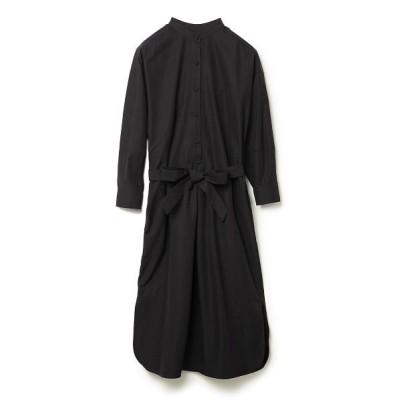 【コエル】 サックシャツワンピース レディース ブラック F COEL