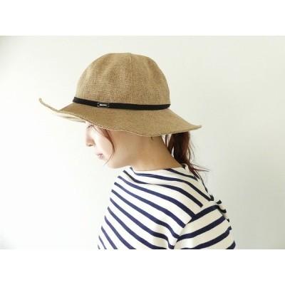 ORCIVAL(オーシバル) Raffia Like ペーパー細リボン HAT(RC-7229RLP)