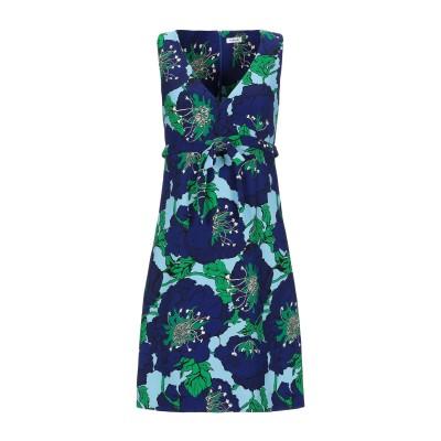 パロッシュ P.A.R.O.S.H. ミニワンピース&ドレス ブルー XXS ポリエステル 96% / ポリウレタン 4% ミニワンピース&ドレス
