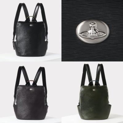 ヴィヴィアンウエストウッド Vivienne Westwood ADVAN リュック バッグ ロゴ レザー 牛革 ギフト プレゼント レディース 取り寄せ