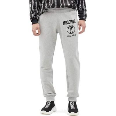 モスキーノ Moschino メンズ ジョガーパンツ ボトムス・パンツ Tonal Detail Cotton Jogger Pants Fantasy Print Grey