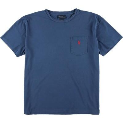 ラルフローレン 半袖 ポケットTシャツ メンズM /eaa071797
