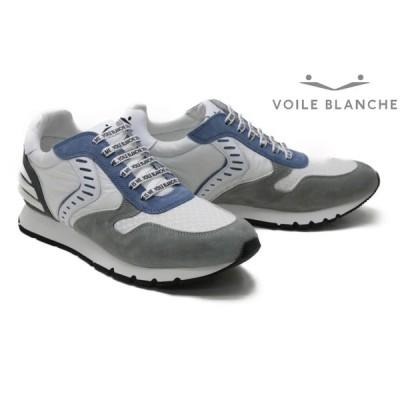 ボイルブランシェ スニーカー リアムパワー2 2014947v ホワイトグレー メンズ VOILE BLANCHE