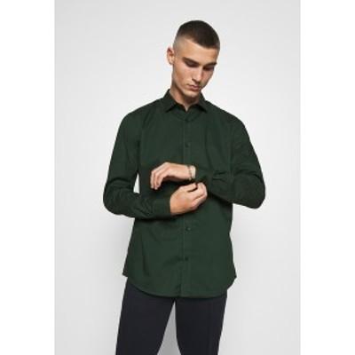 オンリーアンドサンズ メンズ シャツ トップス ONSSANE SOLID POPLIN - Shirt - scarab scarab