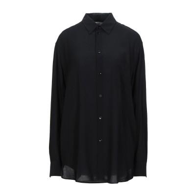 セリーヌ CELINE シャツ ブラック 40 レーヨン 100% シャツ