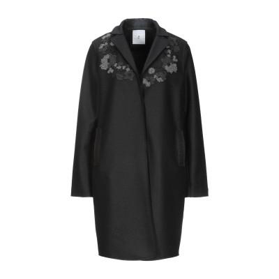WHYCI コート ブラック 42 ウール 100% コート