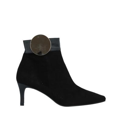 DANIELE ANCARANI ショートブーツ ブラック 36.5 革 ショートブーツ