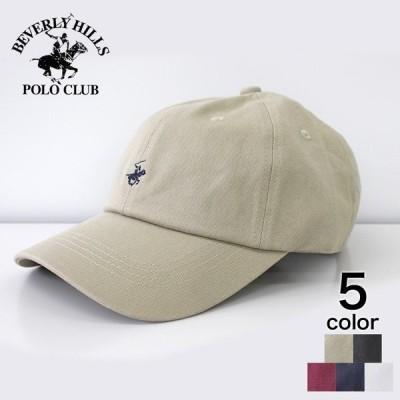 【BHPC】 BHPC  ビバリーヒルズポロクラブ ワンポイント刺繍キャップ  メンズ レディース 帽子 キャップ ブラック ネイビー ベージュ ワイン 白