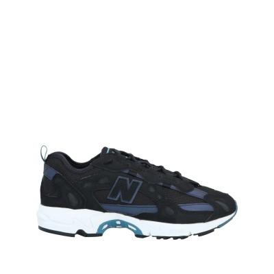 ニュー・バランス NEW BALANCE スニーカー&テニスシューズ(ローカット) ブラック 7 紡績繊維 スニーカー&テニスシューズ(ローカット)