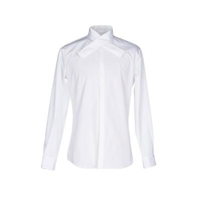 ディースクエアード DSQUARED2 シャツ ホワイト 54 コットン 100% シャツ