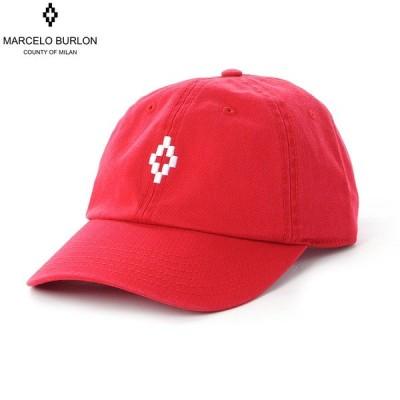 マルセロバーロン MARCELO BURLON ベースボールキャップ 帽子 メンズ CROSS CAP CMLB016E19B351102001 レッド