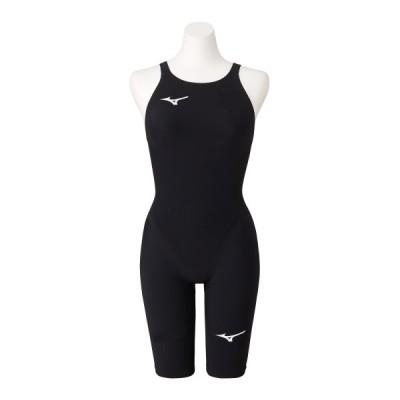 ミズノ レディース 競泳水着 ハーフスーツ GX・SONIC NEO TF N2MG0705 09カラー 限定 ブラックアウトカラー