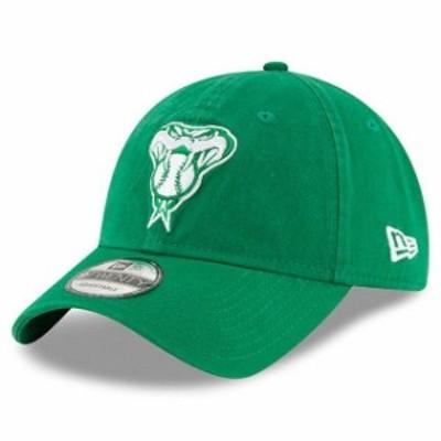 New Era ニュー エラ スポーツ用品  New Era Arizona Diamondbacks Womens Green 2018 St. Patricks Day Prolight 9TWENTY Ad