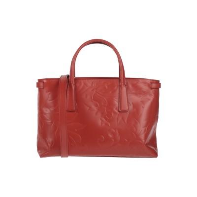 ZANELLATO ハンドバッグ 赤茶色 革 ハンドバッグ