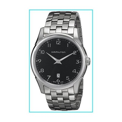 Hamilton Men's HML-H38511133 Jazzmaster Thinline Black Dial Watch【並行輸入品】