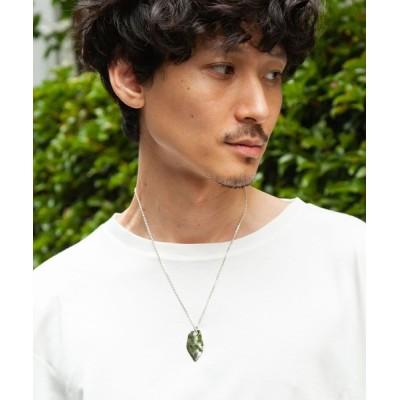 ONE DAY KMC / Ayler アイラー /  leaf necklace MEN アクセサリー > ネックレス