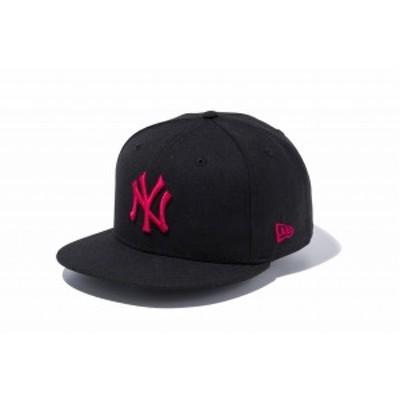 ニューエラ(NEW ERA) 9FIFTY ニューヨーク・ヤンキース ブラック/ストロベリー 12492803