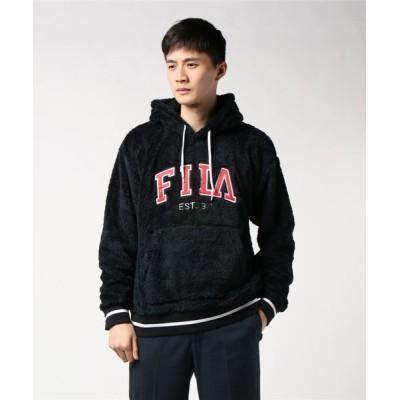 L.H.P / FILA/フィラ/ロゴ刺繍プルオーバーパーカー MEN トップス > パーカー