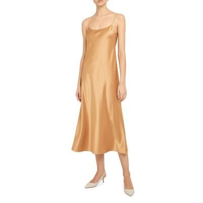 セオリー レディース ワンピース トップス Telson Sateen Slip Dress
