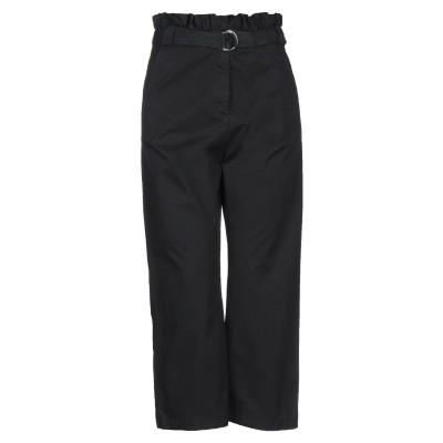 ピンコ PINKO パンツ ブラック 40 コットン 96% / ポリウレタン 4% パンツ