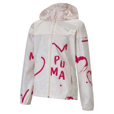 PUMA 基本系列Alpha愛心印花風衣外套(G)