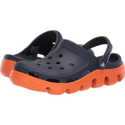 クロックス Crocs レディース クロッグ シューズ・靴 Duet Sport Clog Navy/Orange