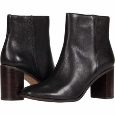 メイドウェル Madewell レディース ブーツ スクエアトゥ シューズ・靴 Malone Square Toe Bootie True Black Leather