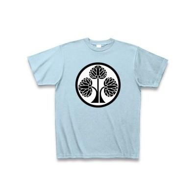 本多忠勝(家紋) Tシャツ Pure Color Print(ライトブルー)