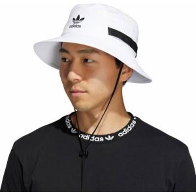 アディダス メンズ 帽子 アクセサリー adidas Originals Adult Boonie Bucket Hat White