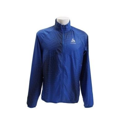 【クーポン有 30日23:59まで】オドロ(ODLO) Jacket OMNIUS 312262 energy blue (Men's)