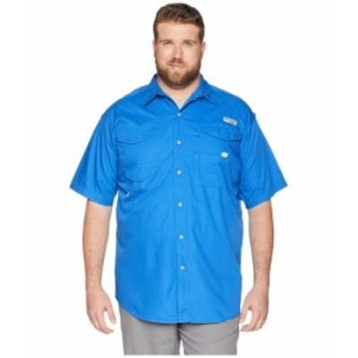 コロンビア メンズ シャツ トップス Big & Tall Bonehead S/S Shirt Vivid Blue