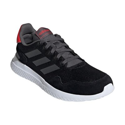 アディダス(adidas) メンズ スニーカー ARCHIVOM コアブラック/グレーシックス/アクティブレッド EPG67 EF0436 カジュアルスニーカー シューズ 靴