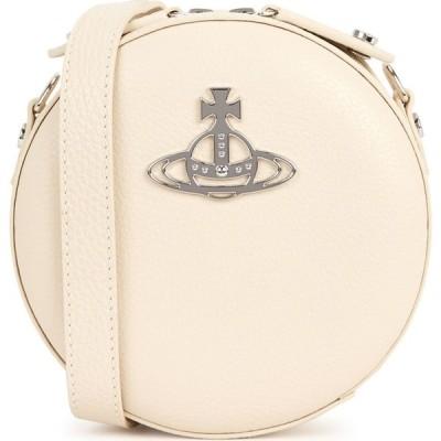 ヴィヴィアン ウエストウッド Vivienne Westwood レディース ショルダーバッグ バッグ Johanna Ivory Leather Cross-Body Bag Natural