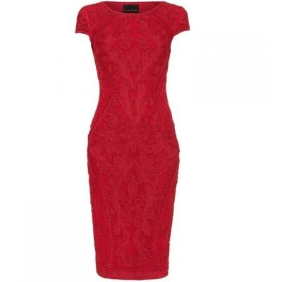 フェイズ エイト Phase Eight レディース ワンピース ワンピース・ドレス Perdy Tapework Dress Scarlet