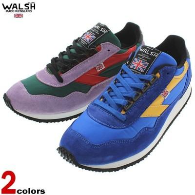 ウォルシュ WALSH スニーカー エンサイン ENSIGN ブルー/イエロー (ENS70102) グリーン/バイオレット/レッド (ENS70103)