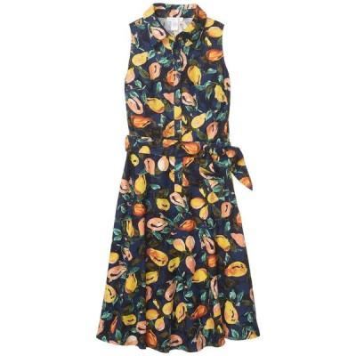 ロンドンタイムス レディース ワンピース トップス Sleeveless Shirtdress with Waist Tie