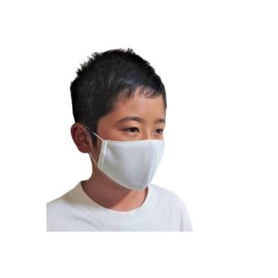 西尾市 ふるさと納税 夏用布マスク 子供用<白>10枚セット Y037