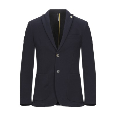 SSEINSE テーラードジャケット ダークブルー 44 ポリエステル 95% / ポリウレタン 5% テーラードジャケット