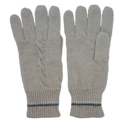 ALA-068-02 アルパカ100%手袋 縄編み柄 アルパカ柄 女性向き ソフト 暖かい 可愛い