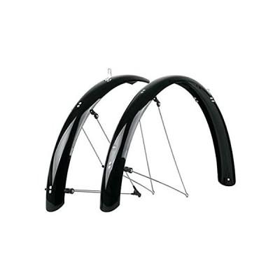 海外より出荷【並行輸入品】SKS Bluemels マッドガードセット 自転車 通勤 ロードバイクフェンダー アルミ プラスチック 耐腐食 UVカット ASR安全リリース ドイ