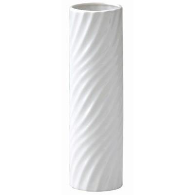 40%OFF花器・花瓶 スマートベース(ホワイト) スマートベース M 白 (円型スパイラル)